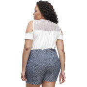shorts 011 melinde plus size